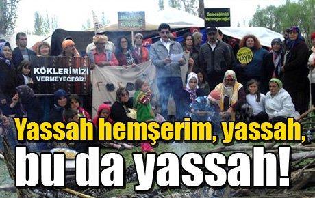 Polis 'Anadolu Yürüyüşü'nü durdurdu!