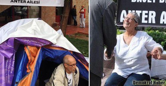 Polis, Dicle Anter'in çadırına müdahale etti