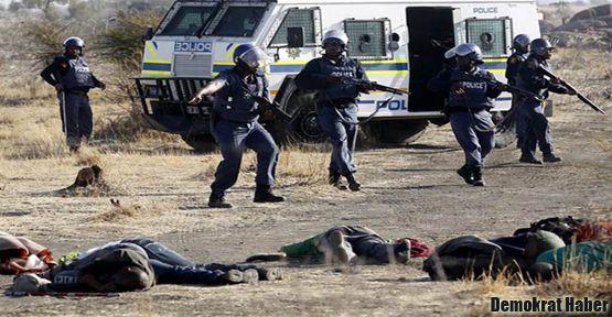 Polis madencileri taradı: 30 ölü
