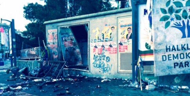 'Polis, miting alanına bomba konulduğu ihbarını almıştı'