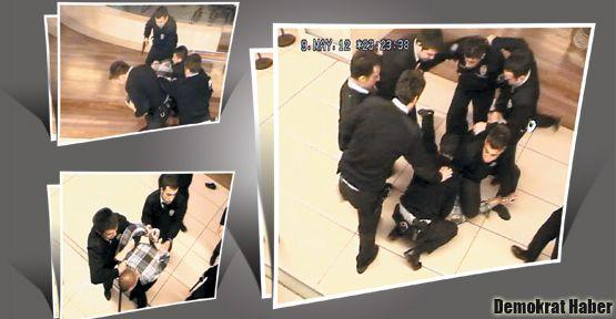 Polis şiddeti Alışveriş Merkezine indi