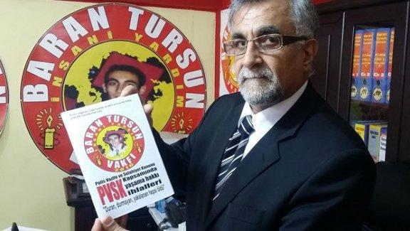Polis şiddetinin çetelesini tutan Baran Tursun Vakfı kapatılmak isteniyor