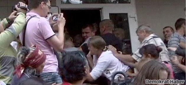 Polis tecavüzü Ukrayna'yı ayaklandırdı