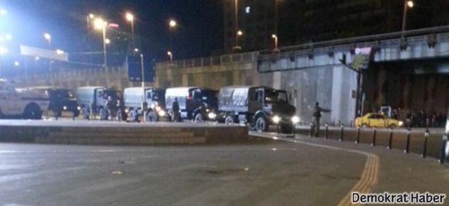 'Polis TOMA'lardan ateş açtı'