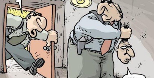 Polisin yetkilerini arttıran 'güvenlik paketi' Uykusuz'un kapağında