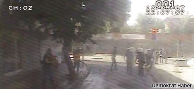 Polisin 'Yok' dediği kamera kayıtlar ortaya çıktı
