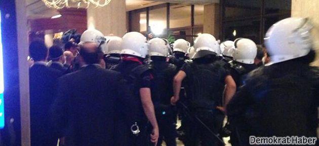 Polisler kask numaralarını kaldırdı