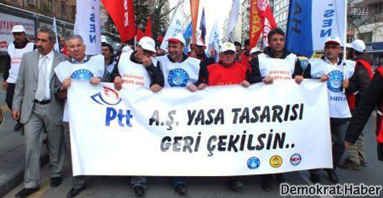 PTT çalışanlarının grevi Meclis'e geri adım attırdı