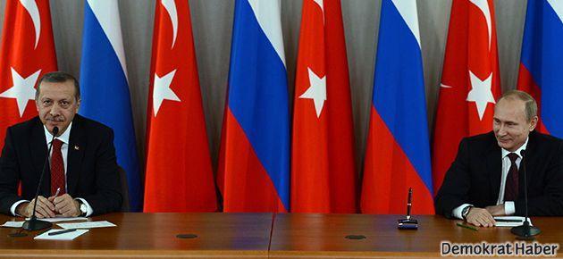 Putin ve Erdoğan ekonomiden memnun