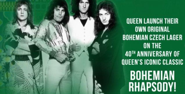 Queen'den 'Bohemian Rhapsody' birası