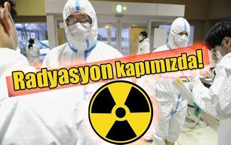 Radyasyon kapımızda