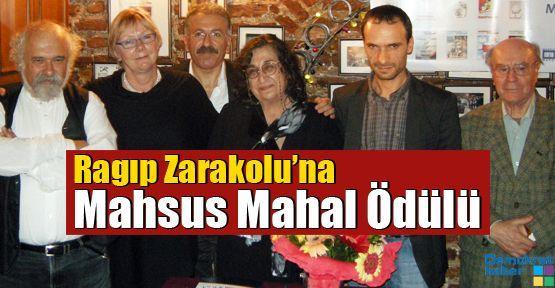 Ragıp Zarakolu'na Mahsus Mahal Ödülü