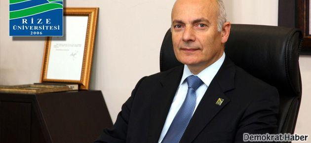 Recep Tayyip Erdoğan Üniversitesi'nde istifa