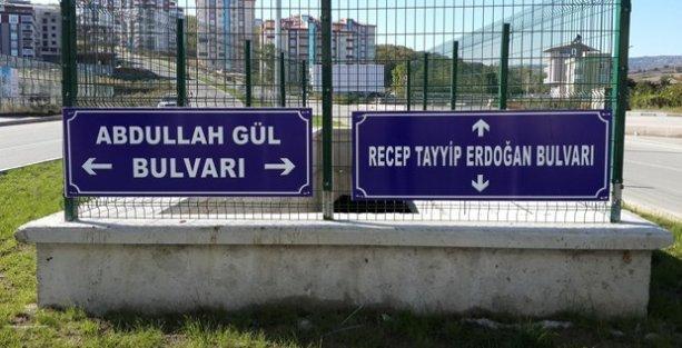 Recep Tayyip Erdoğan ve Abdullah Gül'ün adları bulvara verildi