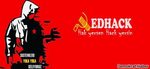 RedHack, Taylan için yine AKP'yi hackledi
