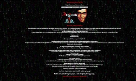 Redhack, Berkin Elvan için hackledi