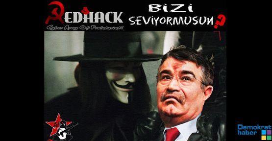 RedHack İçişleri'ni Hackledi