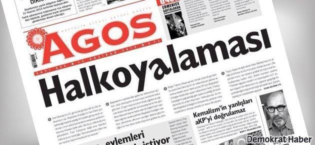 Referandum Agos'un ilk sayfasında: Halkoy(a)laması