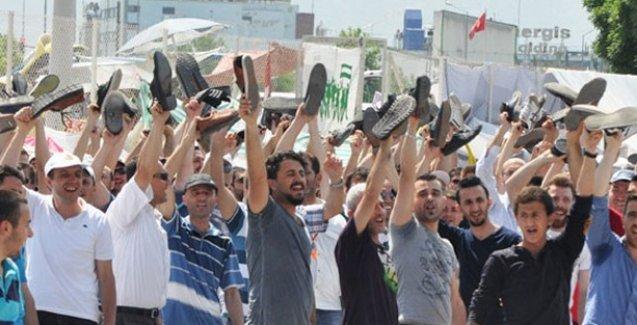 Bursa'da direnen işçilere 'terör' soruşturması