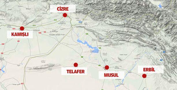 Reuters: IŞİD, Telafer'i ele geçirdi