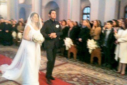 Rober Koptaş ve Delal Dink evlendi