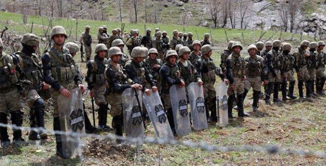 Roboski sınırında askeri operasyon