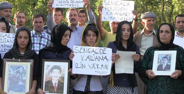 'Roboski'nin katili kimse Şengal'in katili de odur'