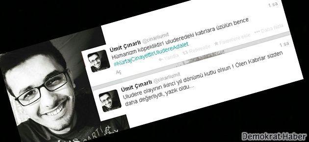 Roboski'yle ilgili tweetler atan o hakeme ceza