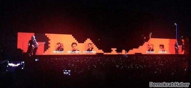 Roger Waters'ın 'Duvar'ında Gezi damgası
