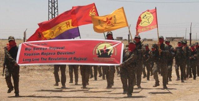 Rojava'da Enternasyonalist Özgürlük Taburu kuruldu
