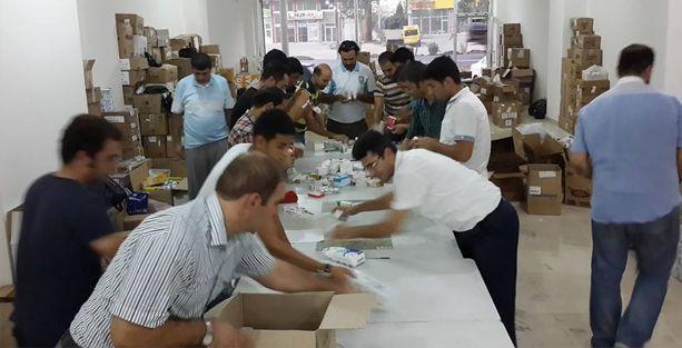 Rojava için, 'Bir cana ilaç ol' yardım kampanyası
