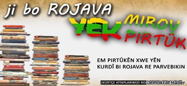 Rojava için Kürtçe kitap kampanyası