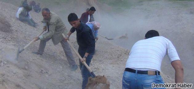 Rojava sınırına kazılan hendek tamamlandı