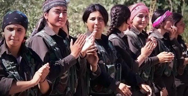 'Rojava'da kadın eliyle özgürlük gelişiyor'