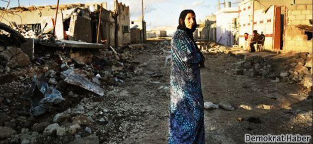 Rojava'daki saldırılar Diyarbakır'da protesto edildi