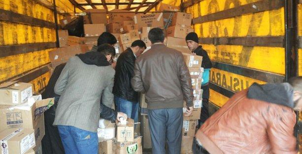 'Rojava'ya Kardeş Eli' kampanyasına büyük ilgi