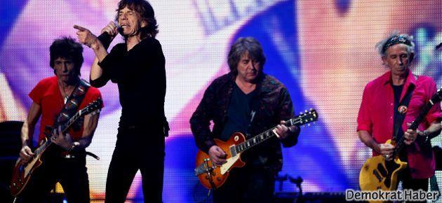 Rolling Stones'a Çin'den veto geldi