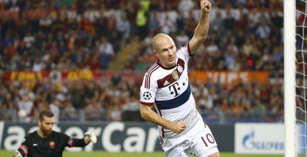Roma - Bayern Münih maçında tarihi skor