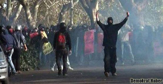 Roma'daki protestolara polis müdahalesi