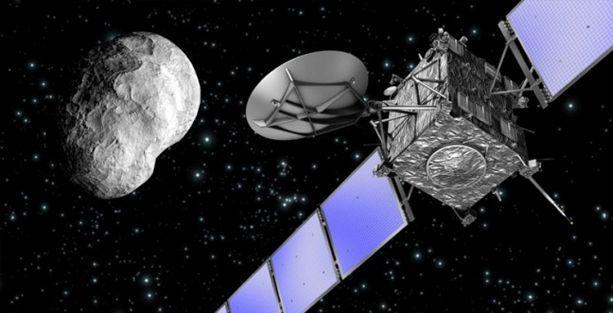 Rosetta uydusu 10 yıl sonra hedefini yakaldı