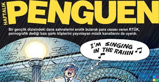 RTÜK Penguen'in kapağında