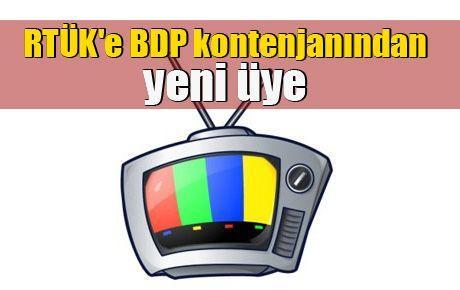 RTÜK'e BDP kontenjanından yeni üye