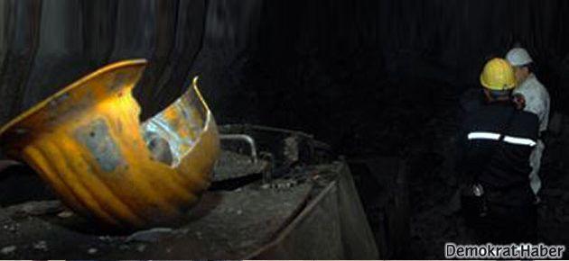 Ruhsatsız kömür ocağı işçilere mezar oldu