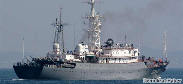 Rusya Akdeniz'e casus gemisi gönderiyor