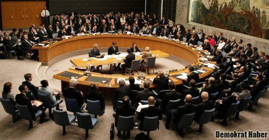 Rusya ve Çin'den Güvenlik Konseyi'nde veto