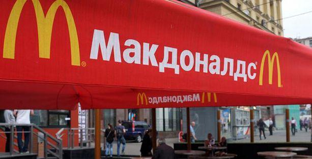 Rusya'da McDonald's'a kilit vuruldu
