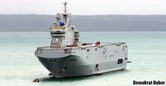 Rusya'dan Suriye'ye iki savaş gemisi