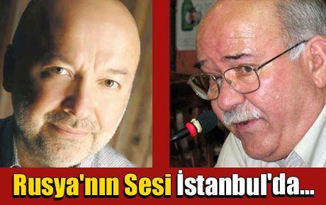 Rusya'nın Sesi Radyosu İstanbul'da…