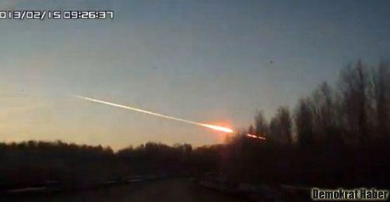 Rusya'ya göktaşları düştü: 400'ü aşkın yaralı