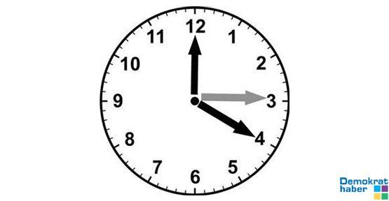 Saatlerinizi ileri almayı unutmayın!